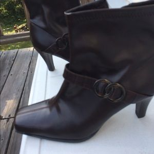 Etienne Aigner boots high heels size 9